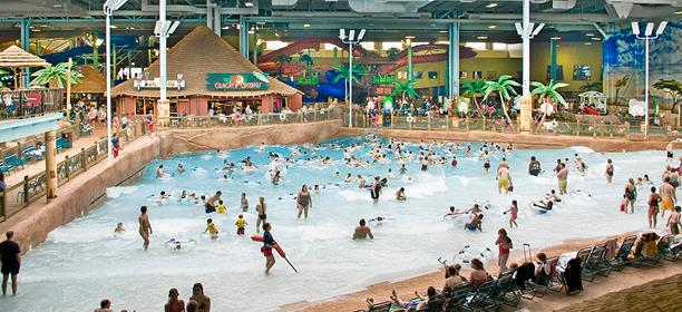 A Condensed But Fun Water Park