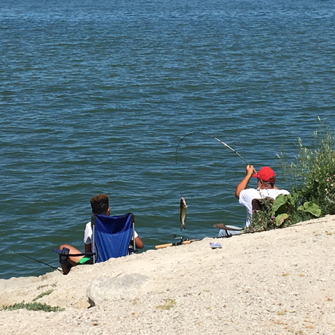 Traveltuesday one day in bay view castalia ohio s lake for Sandusky bay fishing