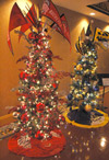 Festival of Trees display at The Sandusky State Theatre.
