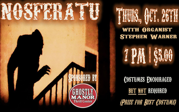 Nosferatu Silent Movie with Organ Accompaniment