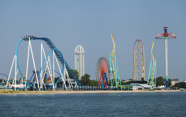 Official Opening Day for Cedar Point