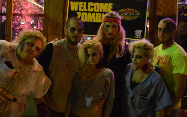 Halloween Costume Pub Crawl & Ball