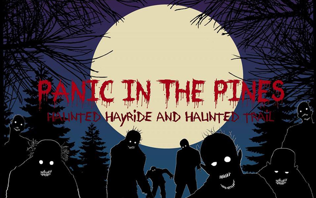 Panic in the Pines Haunted Hayride and Trail