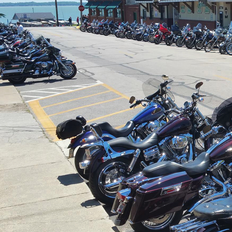 Ohio Bike Week Dice Run
