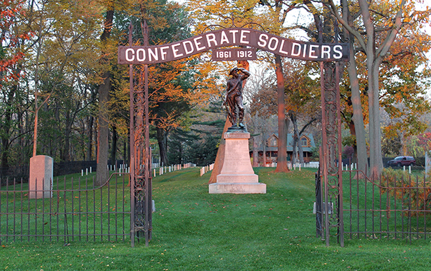 Johnson's Island Confederate Officers Prison Cemetery