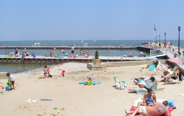 Lakeside beach ohios lake erie shores islands lakeside beach publicscrutiny Image collections