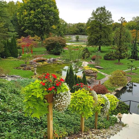 Schedel Arboretum & Gardens – A Walk Through Tranquility and Fine Art