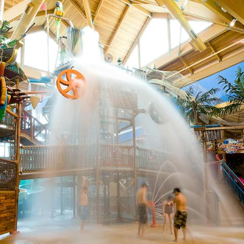 Picking an Indoor Water Park at Ohio's Lake Erie Shores & Islands