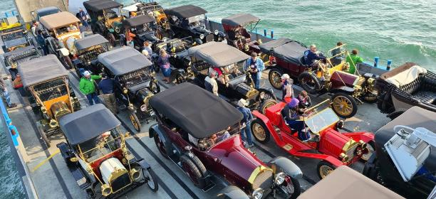 Snapper's Brass & Gas Car Club Tours Lake Erie Shores & Islands