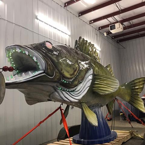 "Wylie the Walleye ""Drops"" in for Another Year of Fun"