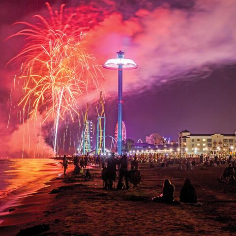 Top Seven Places to Watch Fireworks at Ohio's Lake Erie Shores & Islands
