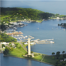 Put-in-Bay Aerial View