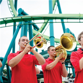 Band at Cedar Point