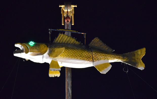 New Year's Eve Walleye Drop