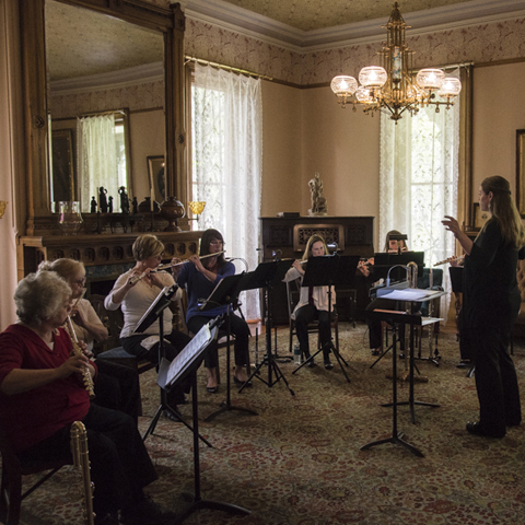 Music in the Parlor: Terra Brass Quintet