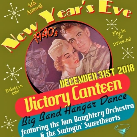 4th Annual New Year's Eve 1940s WWII era Big Band Victory Canteen Dance