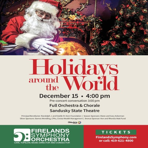 """Holidays Around The World"" Annual Holiday Pops Concert"