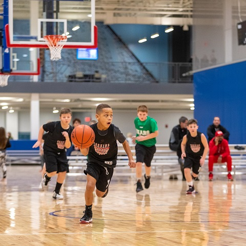 Youth Basketball League at Cedar Point Sports Center