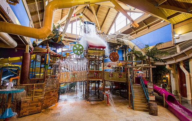 Cedar Point's Castaway Bay Indoor Waterpark