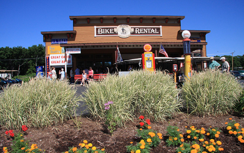Island Bike & Cart Rental at Miller Ferry Lime Kiln Dock