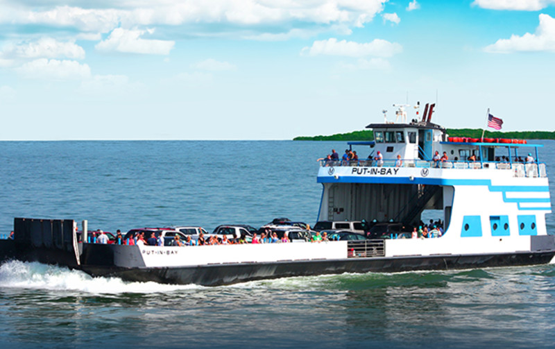 Miller Ferries to Put-in-Bay and Middle Bass Island Ohio