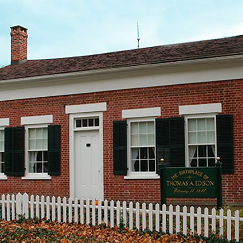 Edison Birthplace